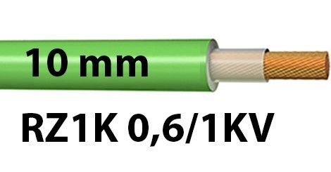 Cable RZ1K 0.6/1KV Sección 10 mm